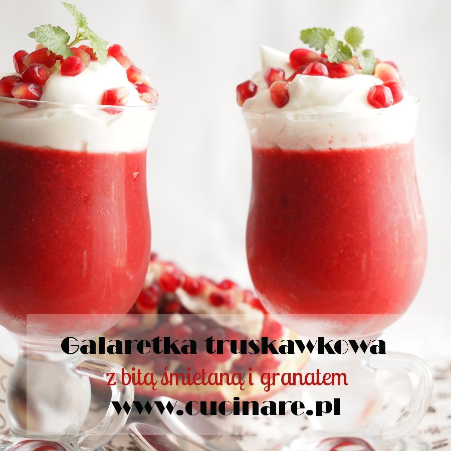 galaretka truskawkowa