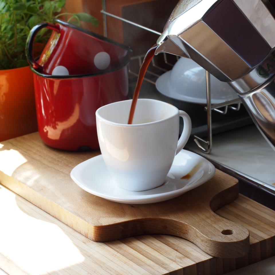 kawiarka przyrzadzanie kawy