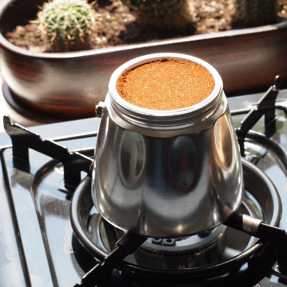 kawiarka ubijanie kawy