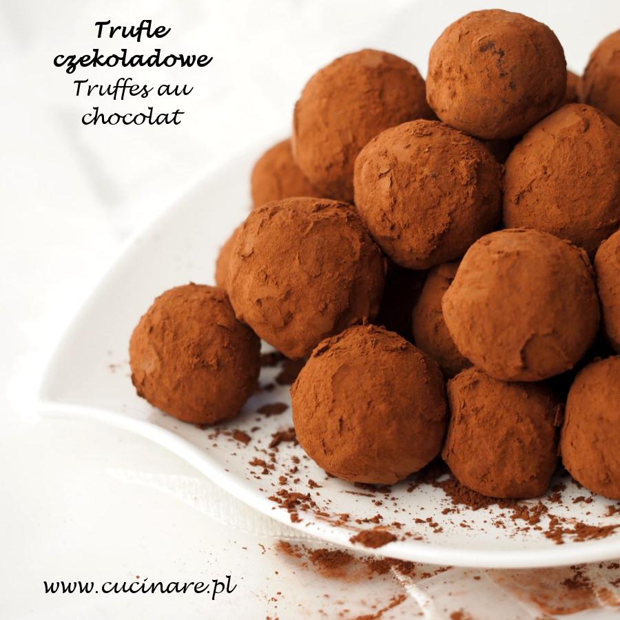 trufle czkoladowe